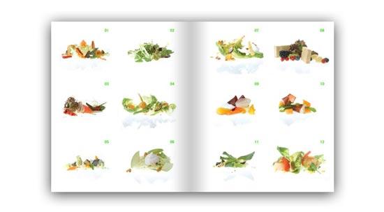 Bocadillos y ensaladas un libro de paco roncero - Diferentes ensaladas de lechuga ...