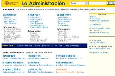propuesta para administracion.es