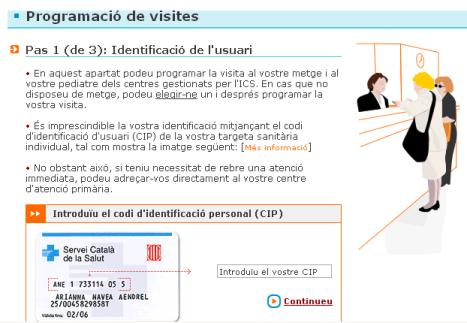 peticion de hora en cat365.net