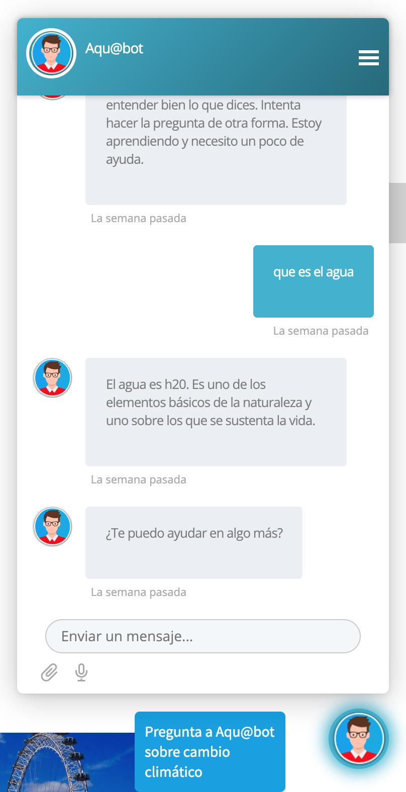imagen de chatbot con liferay y dialogflow